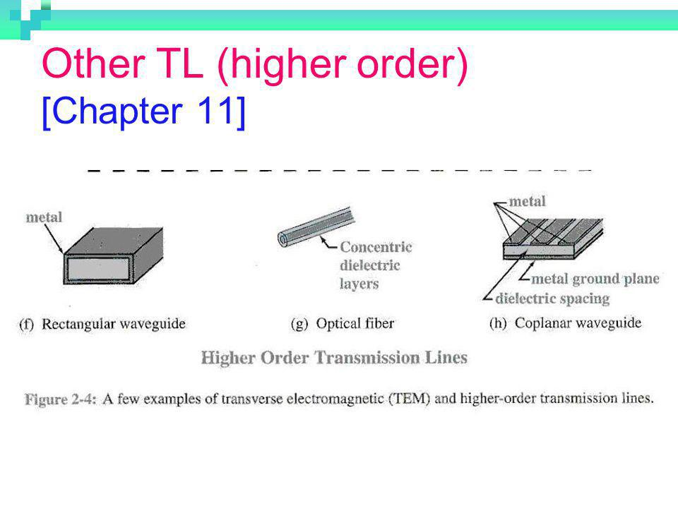 Other TL (higher order) [Chapter 11]